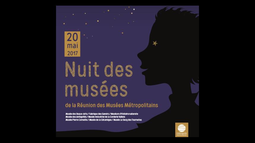 Samedi 20 mai 2017 : Nuit des musées à La Fabrique des savoirs